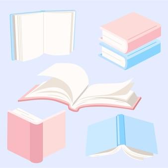 Coleção de elementos de livros
