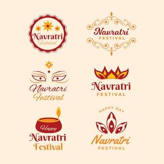 Coleção de emblemas navratri