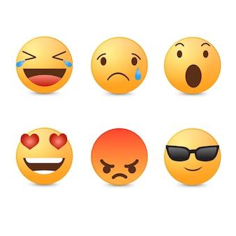 Coleção de emoticons