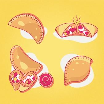 Coleção de empanadas