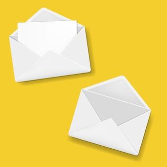 Coleção de envelopes