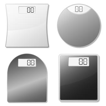 Coleção de escalas de uso doméstico