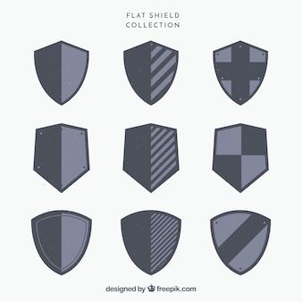 Coleção de escudos heráldicos