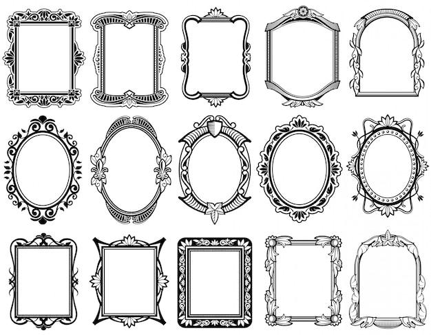 Coleção de espelhos