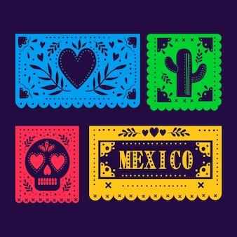 Coleção de estamenha mexicana