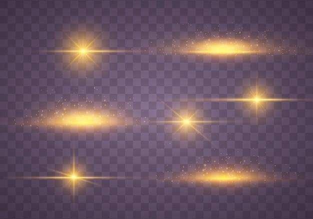 Coleção de estrelas brilhantes
