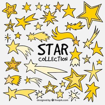 Coleção de estrelas grandes