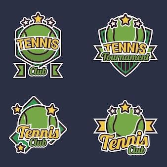 Coleção de etiquetas de tênis