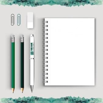 Coleção de ferramentas de escrita