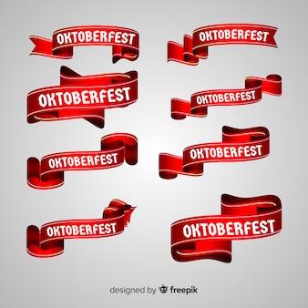 Coleção de fitas oktoberfest