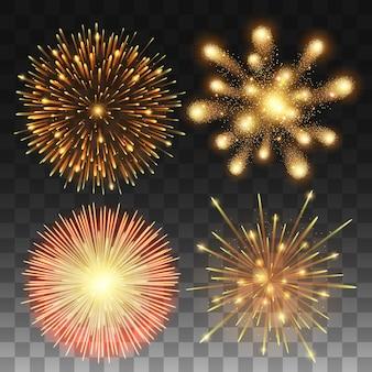 Coleção de fogos de artifício