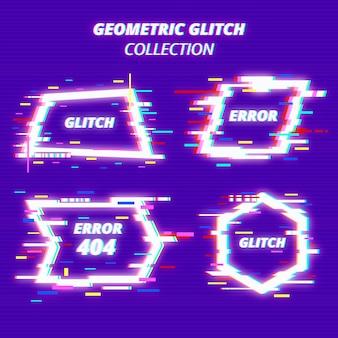 Coleção de forma geométrica glith