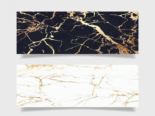 Coleção de fundo de textura de mármore de luxo