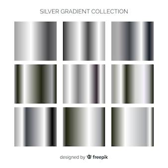 Coleção de gradiente metálico