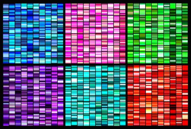 Coleção de gradientes coloridos