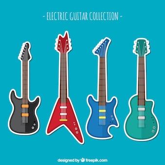 Coleção de guitarra elétrica