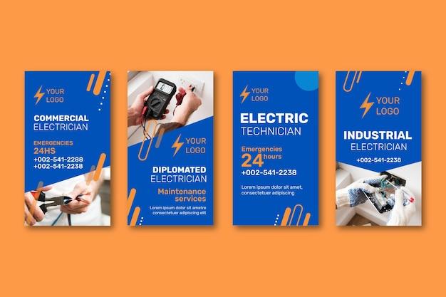 Coleção de histórias de técnicos elétricos