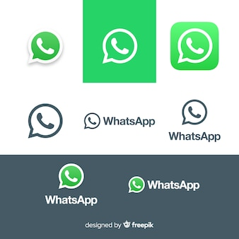 Coleção de ícones do whatsapp