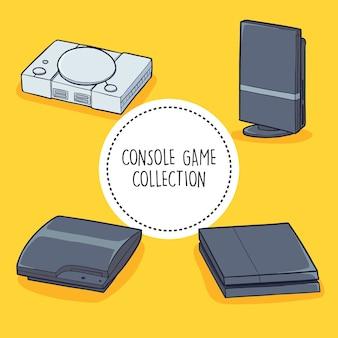 Coleção de jogos de consola