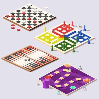 Coleção de jogos de tabuleiro