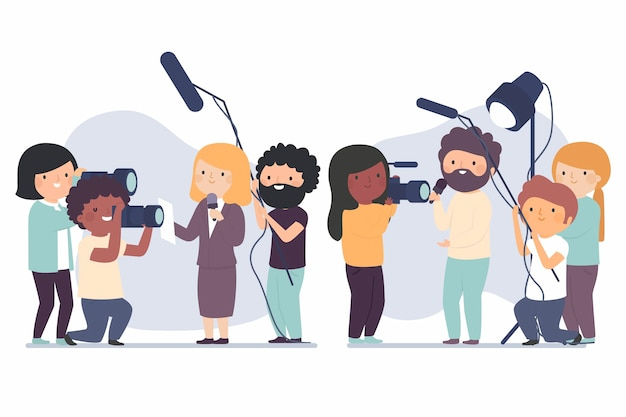 Coleção de jornalistas