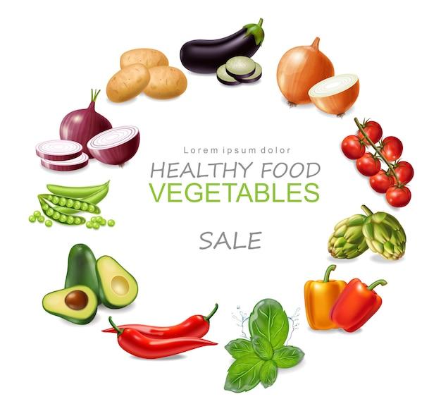 Coleção de legumes