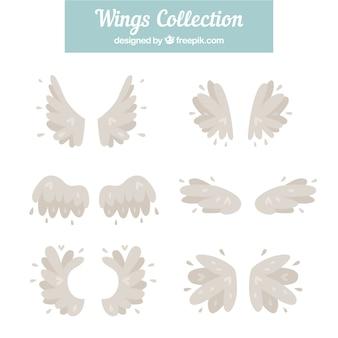 Coleção de lindas asas vintage