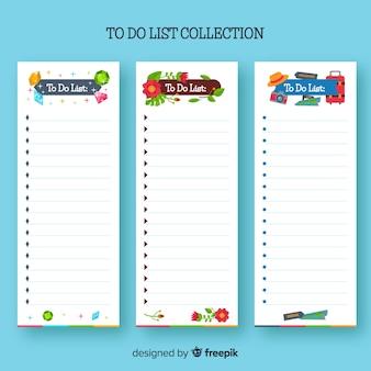Coleção de listas de tarefas