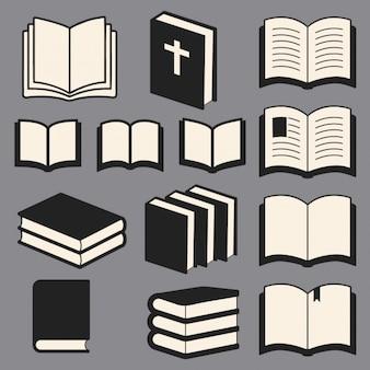 Coleção de livros biblioteca