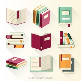 Coleção de livros educativos