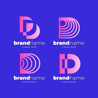 Coleção de logotipo d