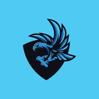 Coleção de logotipo de águia