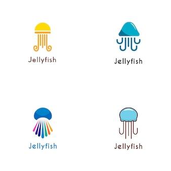 Coleção de logotipo de geléia