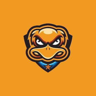 Coleção de logotipo de pato