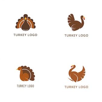 Coleção de logotipo de turquia