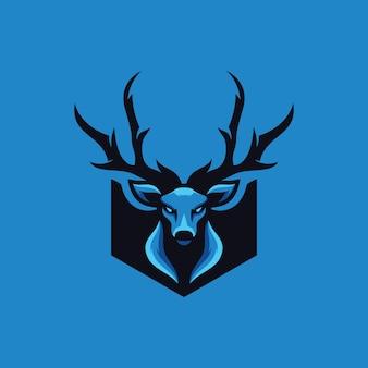 Coleção de logotipo de veado