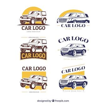 Coleção de logotipo do carro grande