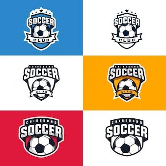 Coleção de logotipo do clube de futebol