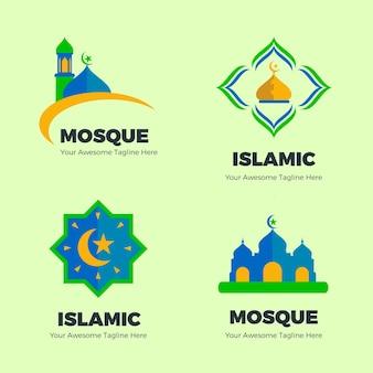 Coleção de logotipo islâmico