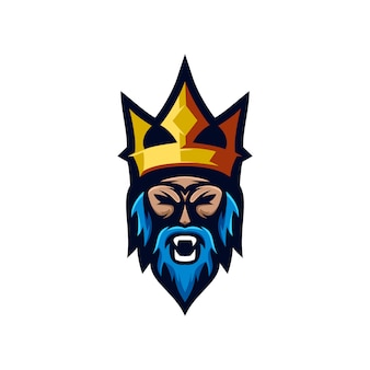 Coleção de logotipo viking
