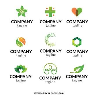 Coleção de logotipos da empresa