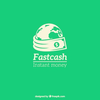 Coleção de logotipos de dinheiro para empresas