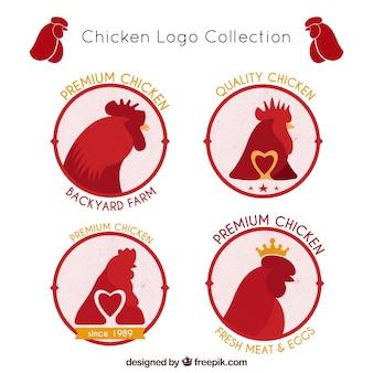 Coleção de logotipos de fazenda
