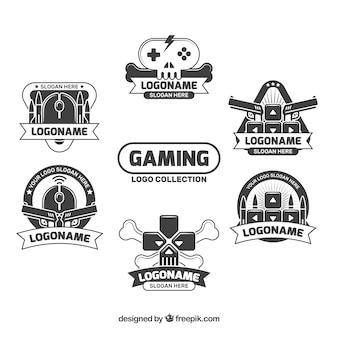Coleção de logotipos de jogos