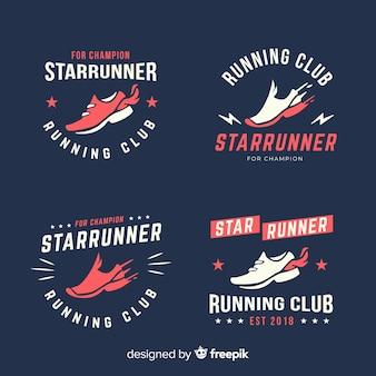 Coleção de logotipos de tênis