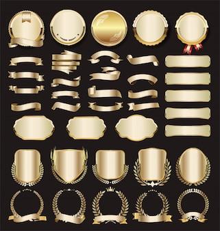 Coleção de luxo dourado