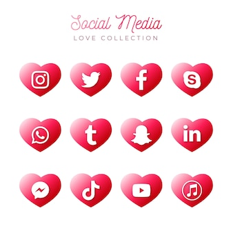 Coleção de mídia social