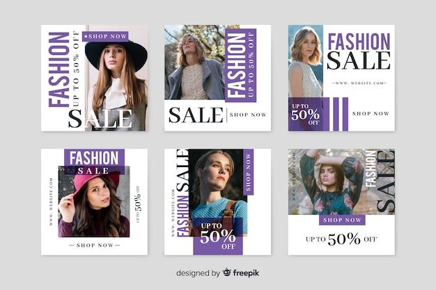 Coleção de moda disponível com ofertas especiais