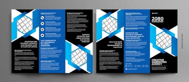 Coleção de modelo de folheto de negócios
