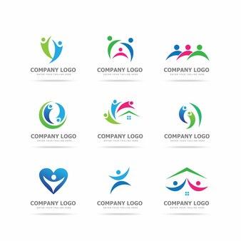 Coleção de modelos de design de logotipo